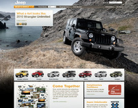 Jeep: Site Update