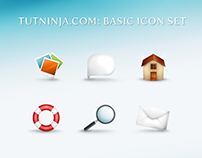 TutNinja.com: Basic icon set [FREE]