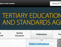 Tertiary Education Quality & Standards Agency (website)