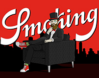 Diseños para concurso Mr Smoking