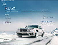 Mercedes Site Design