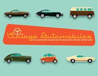 Vintage Automobiles Print