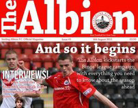 The Albion-Stirling Albion's Monthly Magazine (Editor)