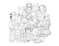 Screen People - GOT, Fringe,  Breaking Bad, TWD & TBBT