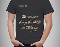 Humans of IEEE T-shirt Design