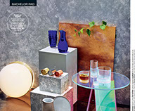 GQ Magazine Maya Linhares-Marx Stylist Set Design