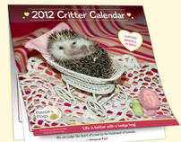 2012 Critters Calendar for Pierce's Pog