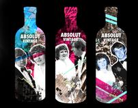 Absolut Vintage Vodka Bottles