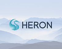 Heron Brand Identity and Website