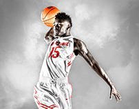 Ohio State Men's Basketball – Airborne Poster