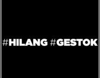 Posters #Hilang #Gestok