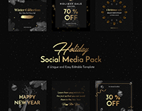 Holiday Social Media Pack