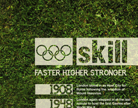 Olympic Typography