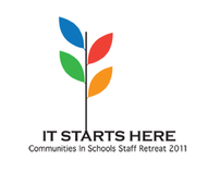 Communities In Schools Staff Retreat Logo + Invitation