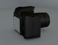 Cinema 4D Camera Model