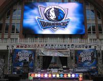 Guitar Hero Challenge - Game Stop - Dallas Mavericks