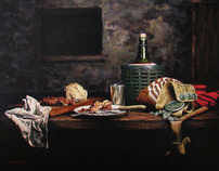 The Gaucho - Fine Art paintings - Argentina