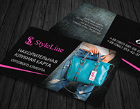 Discount Card StyleLine