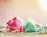 Illustration for #mermay