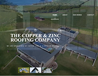 The Copper & Zinc Roofing Company Website Design