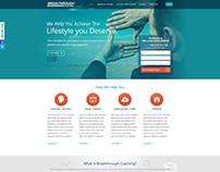 Breakthrough Coaching Website Redesign UI/UX