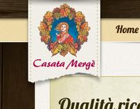Casata Mergè Web site