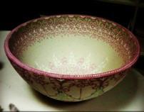 Pink Placenta Bowl