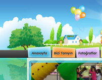 Kindergarten Web Site Design