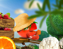 Mega Feirão de Frutas e Verduras