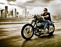 Old Harley Davidson