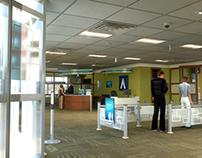 Small Bank Interior