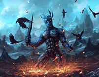 Demon character practice