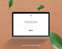Villa Arethousa Website