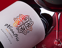 Incanto Excentric wine label design by the Labelmaker