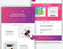 Digital Agency Website design (Wirecamp)