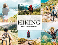 Free Hiking Mobile & Desktop Lightroom Presets