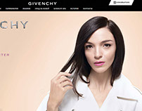 Givenchy Russia website Redisign