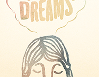 Big Dreams Music Lyric Poster for Andrew McMahon