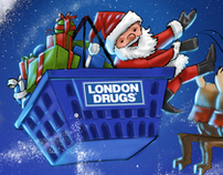 Santa Shops at London Drugs