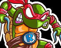 Sticker Teenage mutant ninja turtles