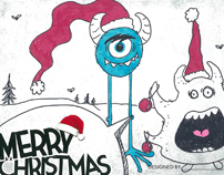 Leo Christmas Cards