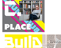 Cover & Spread on Michael C. Place