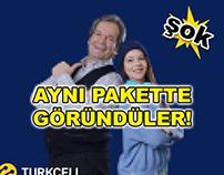Turkcell - Aynı Pakette Görüldüler