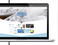 Website and catalogues design for BJK GROUP