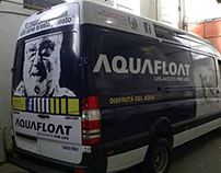 Diseño de brandeo para la empresa Aquafloat
