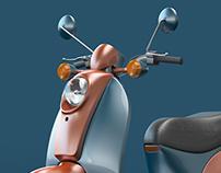 Motorcycle Render