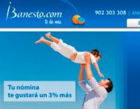 iBanesto Website Redesign