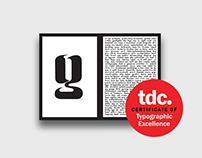 Vixen Display Typeface