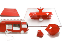 Red or Dead Pop-up book