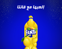 Fanta lemon - Social media